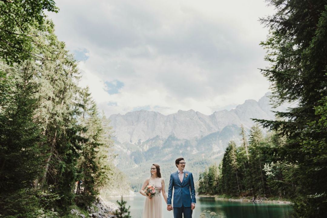 Will patrick photography lakeside eco wedding
