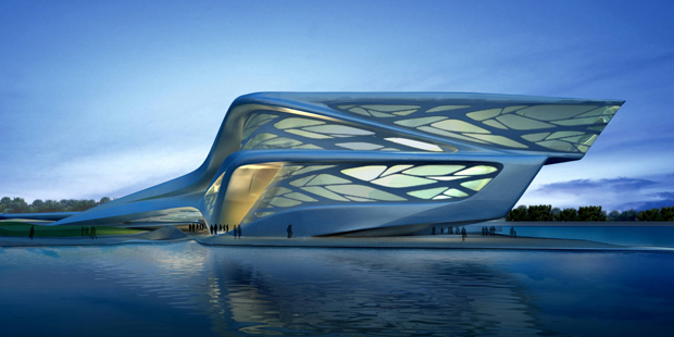 Zaha Hadid's designs for The Abu Dhabi Performing Arts Centre