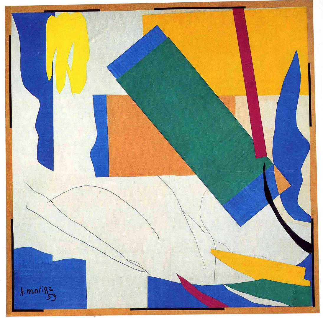 Memory of Oceania (1953) by Henri Matisse