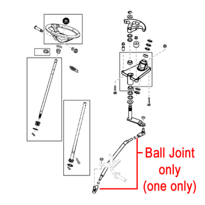 John Deere John Deere Tractor Ball Joint AM132814