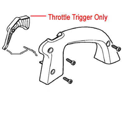 Stihl Stihl Throttle Trigger Leaf Blower Vacuum 4241 182 1000