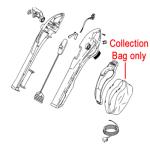 Flymo Flymo Vacuum Debris Collection Bag 5106848-02/0