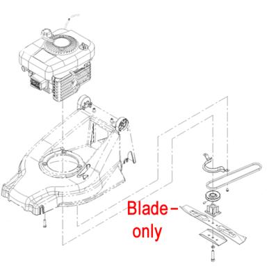 Toro Toro Hayter Replacement Blade 105-0525-03