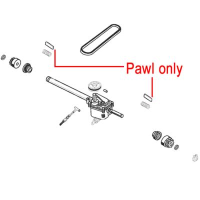 AL-KO AL-KO Gearbox Pawl (Pair) 704068