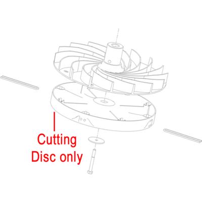 Toro Toro Hayter Hover Cutting Disc 111-1381