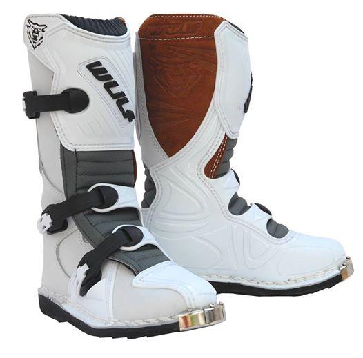 Wulfsport Cub Pro Boots White