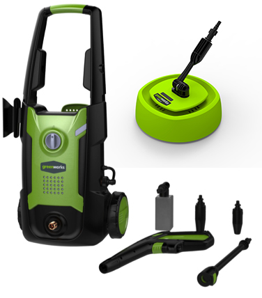 Greenworks G3 Mobile Garden Pressure Washer