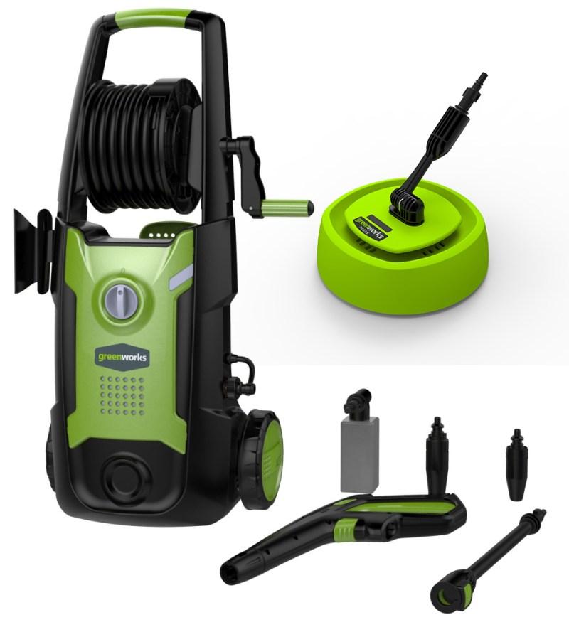Greenworks G4 Mobile Garden Pressure Washer