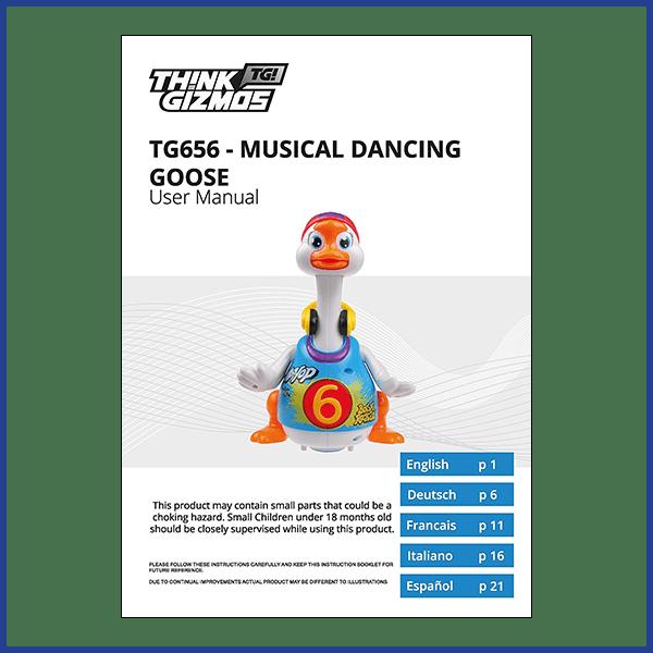 Musical Toy Goose Manual