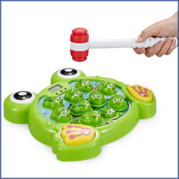 Whack a Frog game