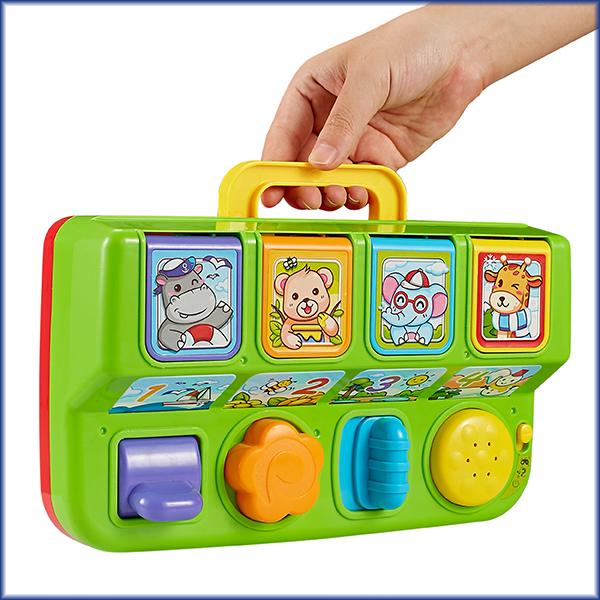 Pop Up Animal Toddler Toy