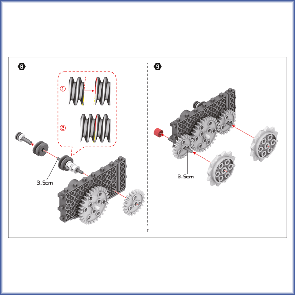 Space Vehicle Building Kit Instructions