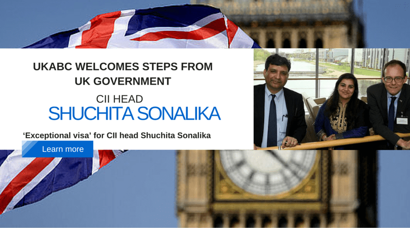 UK Government makes an exception by granting a special visa to the Director & Head of UK CII.