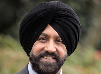 Jas Parmar, Chairman, Bedfordshire Asian Business Association