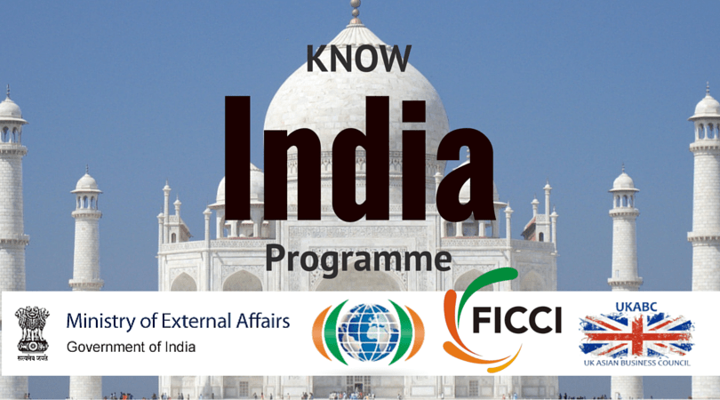 "UKABC Promotes ""Know India Programme"" (25-days across India for young Indian diaspora)"