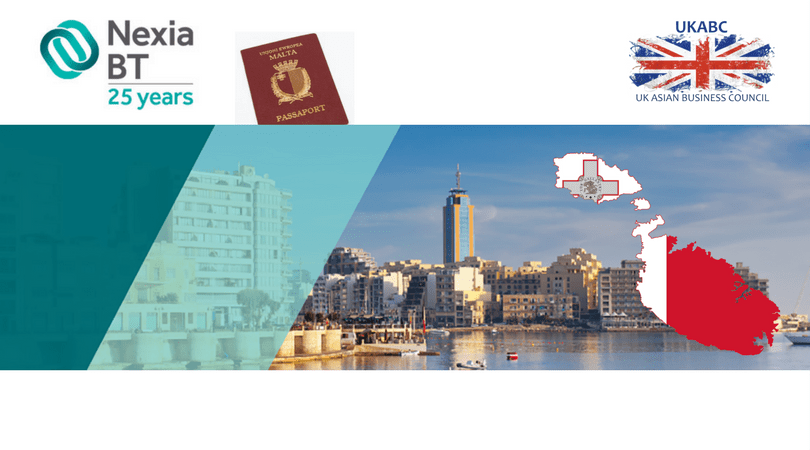 UKABC's Introduction to Nexia BT – towards the Malta Citizenship (Individual Investor) programme