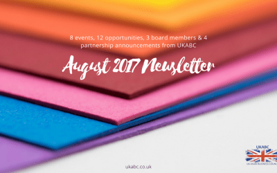 8 events, 12 opportunities, 3 board members & 4 partnership announcements from UKABC – Aug 2017