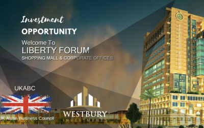 Investment Opportunity – Liberty Forum project in the commercial hub of Lahore 27 floor, mixed-use building with Retail Area, Amenities Floor, Apartments & Parking – Available Now