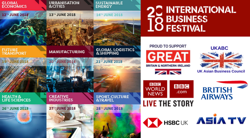 Exclusive UKABC Opportunities at International Business Festival on World Economic Day World Forum for Foreign Direct Investment 2018 for UKABC Members – 50% Discount and Sponsorship Opportunity