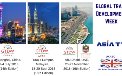 Invitation to Participate at Global Trade Development Week Re Launches in China, Malaysia, and the UAE