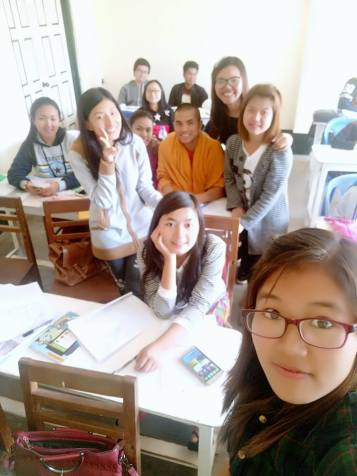 Noom's last day of study in S.A.G.