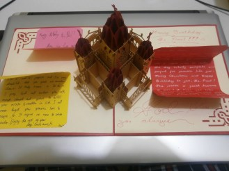 Our birthday present (Vietnamese pop-up card) for Fr. Paul (2)