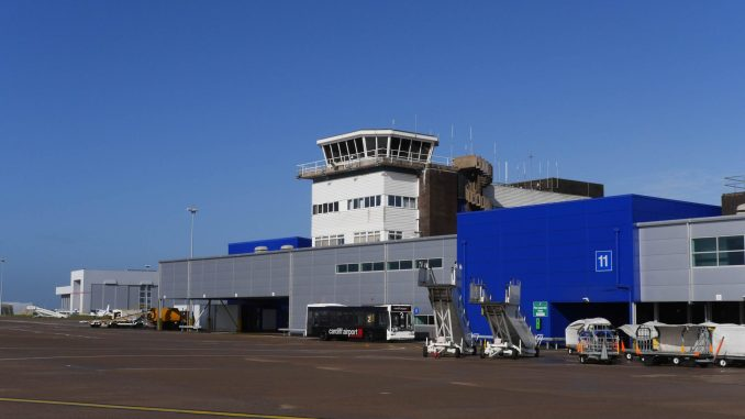 Cardiff Airport (Credit - NATS)