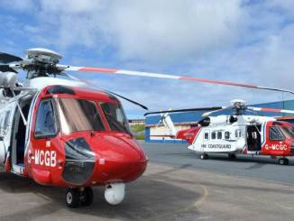 UK SAR Sikorsky S92 (Credit Bristow Helicopters)