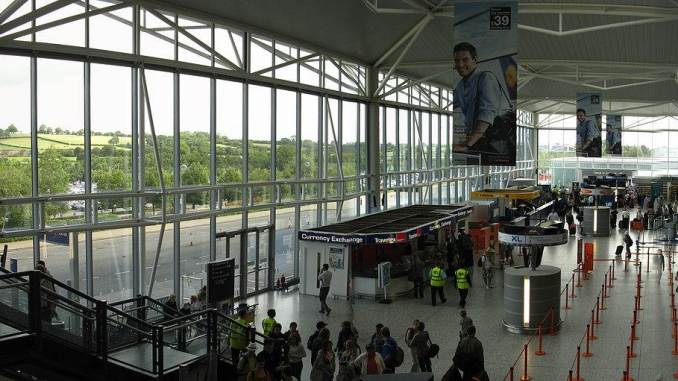 Bristol International Airport (Credit Rwendland)