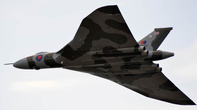 Vulcan XH558 (Credit Nick Harding)