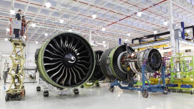 GE90 Engine in overhaul - GE Media