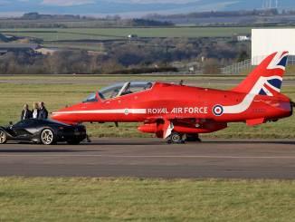 BAe Hawk XX323 (Picture Credit Shaun Grist)