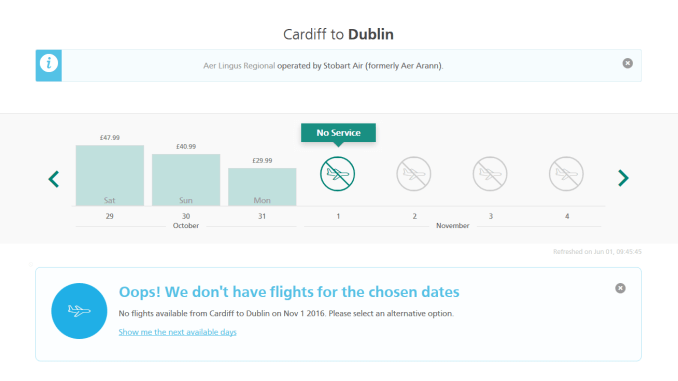 No more Cardiff to Dublin flights with Aer Lingus (Image: Aviation Wales)