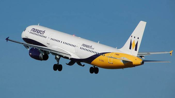 A Monarch A320 (Image: Adrian Pingstone)