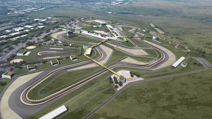 What the circuit of wales could look like (Image: Circuit of Wales)