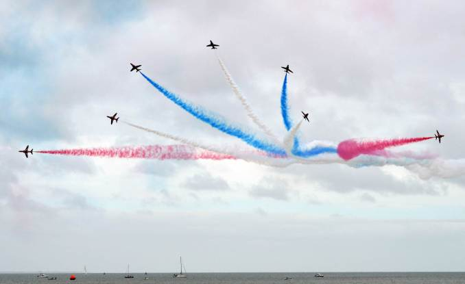 The Red Arrows (Image: The Aviation Media Agency.)