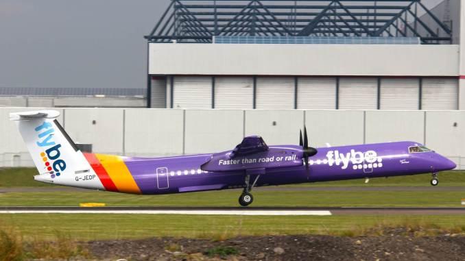 Flybe Dash 8 G-JEDP