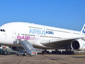 Airbus A380 MSN4 (Image: Nick Harding / Aviation Wales)