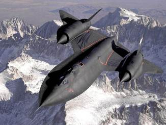 SR71 Blackbird (Image: USAF)