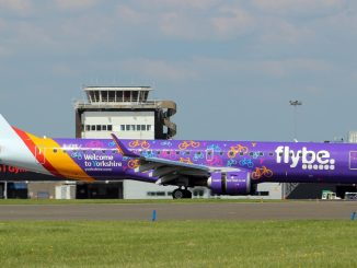 Flybe Embraer E190 G-FEBJ (Image: Aviation Wales)