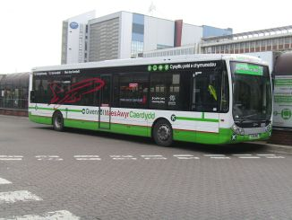 T9 Cardiff Airport Express Bus (Image: Seth Whales)