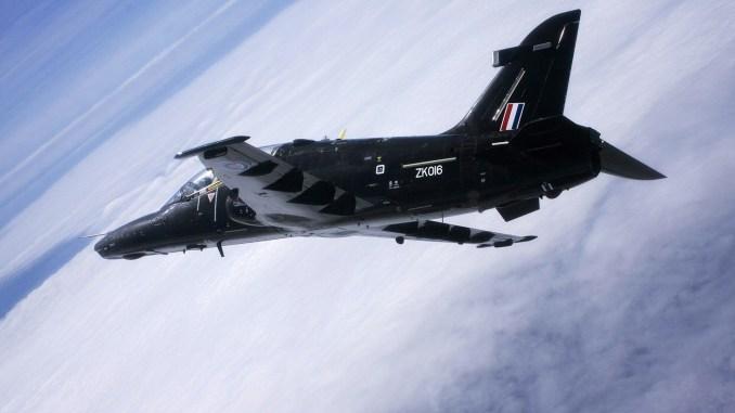 RAF Hawk T2 (Image: Flt Lt Paul Heasman RAF/MOD)