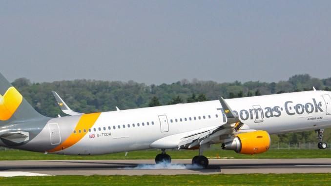 Thomas Cook Airbus A321 at Bristol Airport (Image: The Aviation Media Agency)