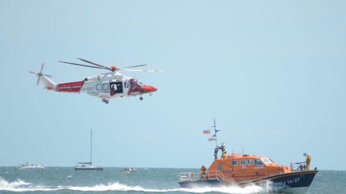 Coastguard and RNLI Winch