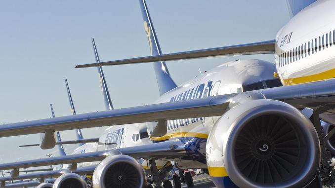 Ryanair Boeing 737 aircraft