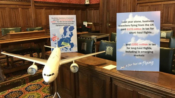A Fair Tax on Flying