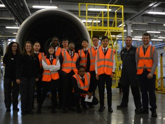 Students get experience at British Airways Cardiff base