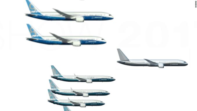 Boeing 797 Paris Airshow