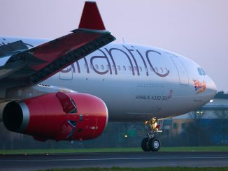 Virgin Atlantic A330 clips wings with a 777 at JFK