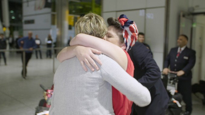 British Airways reunites a couple separated by tragedy & 10,000 miles